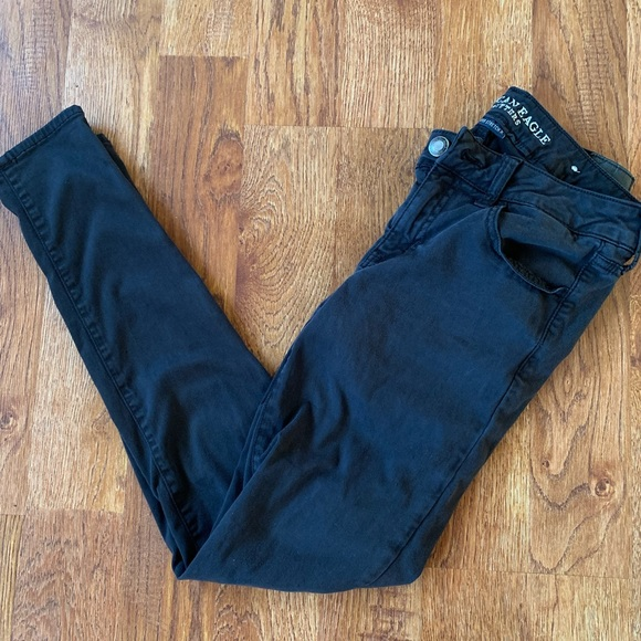 American Eagle Outfitters Denim - American Eagle Outfitters Black Jeggings